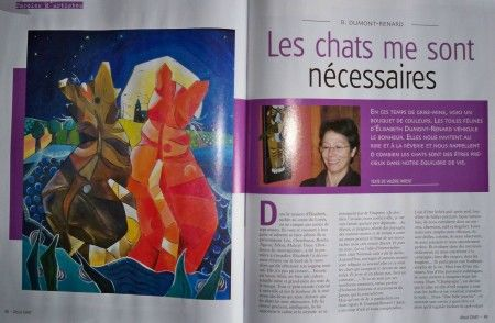 Interview - magazine atout chat mars 2009